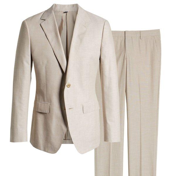 Chambray jacket and pants