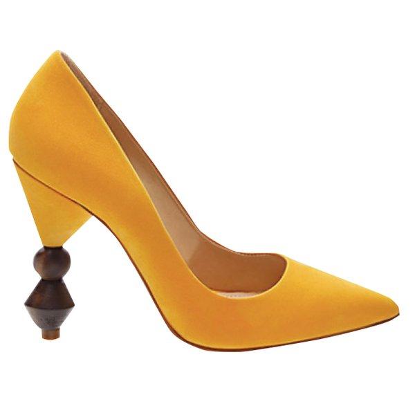 Marigold heels