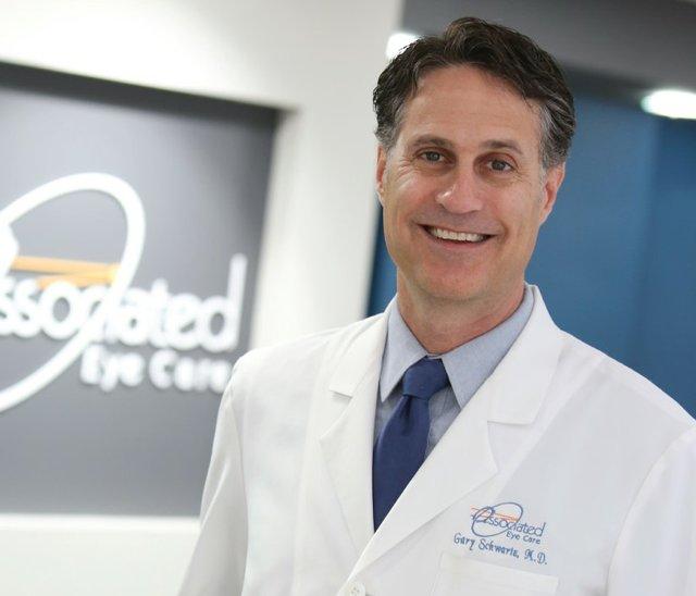 Dr. Gary Schwartz from associated eye care