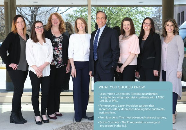 The claris eye care and surgery team