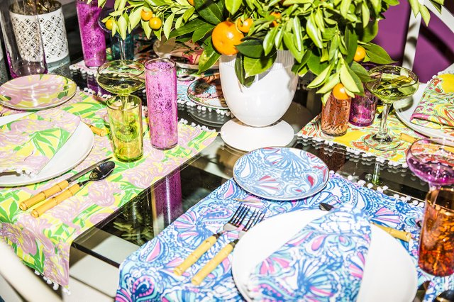 Lily Pulitzer patterned items for Target
