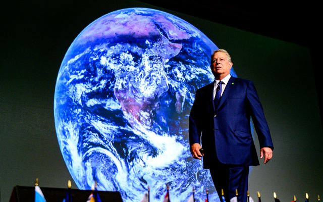 Al Gore at the Climate Reality Project's Training in Minneapolis