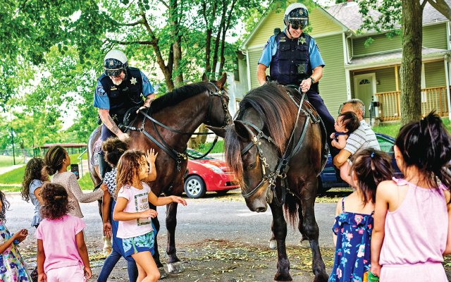 Minneapolis Police Department Mounted Patrol