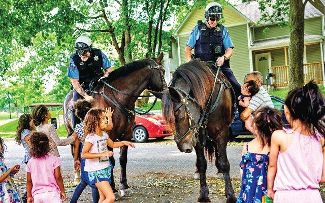 Minneapolis Police Department Mounted Patrol