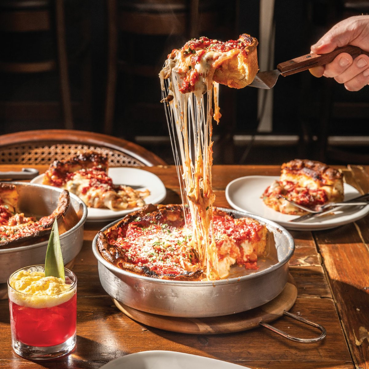 Justin Sutherland Brings Deep Dish Pizza to The Fitz