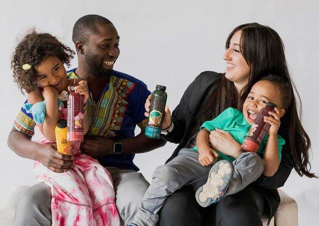 Henry Kisitu and family of Jajja Wellness