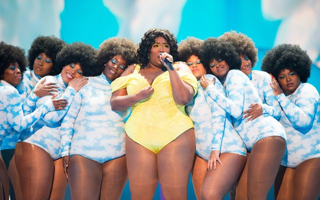 Lizzo at the 2019 MTV Video Music Awards