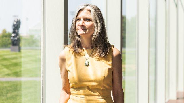 The Walker Art Center Director Mary Ceruti
