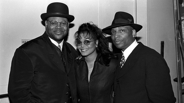 Janet Jackson with Jimmy Jam and Terry Lewis