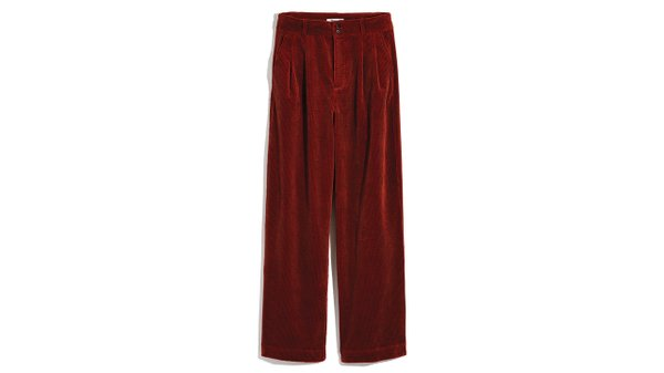 Pleated wide leg pants ($118), from Madewell