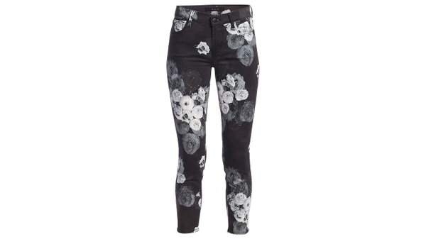 Dark floral jean ($228), by J Brand