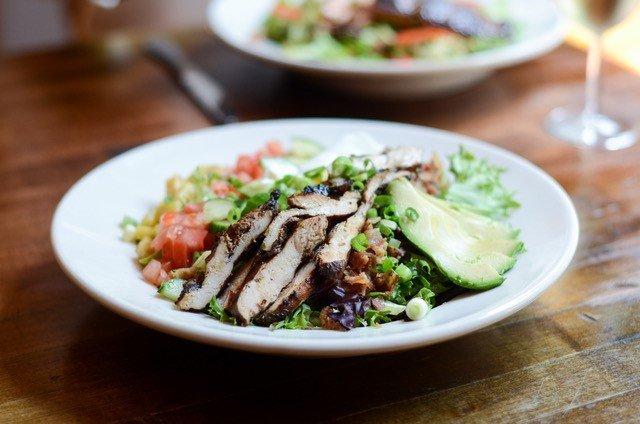 hearty looking salad