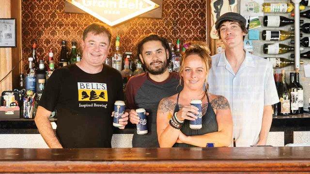 Grumpy's Bar staff