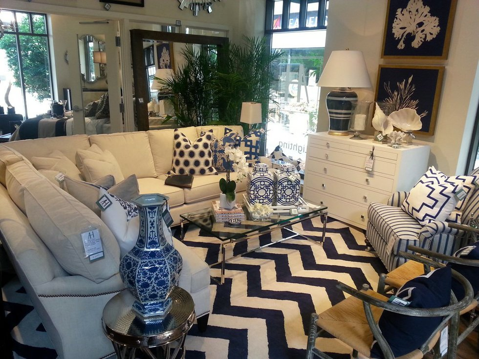 Chevron and pillows for pop example