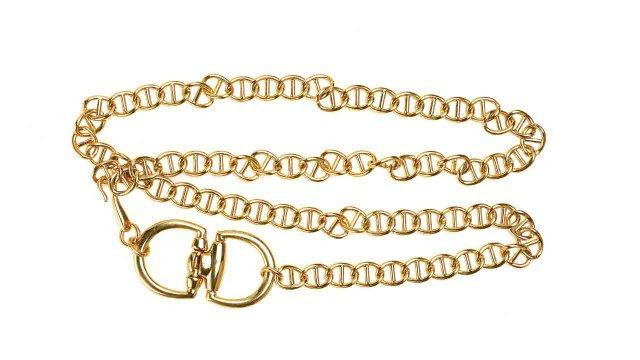 Milan gold chain belt