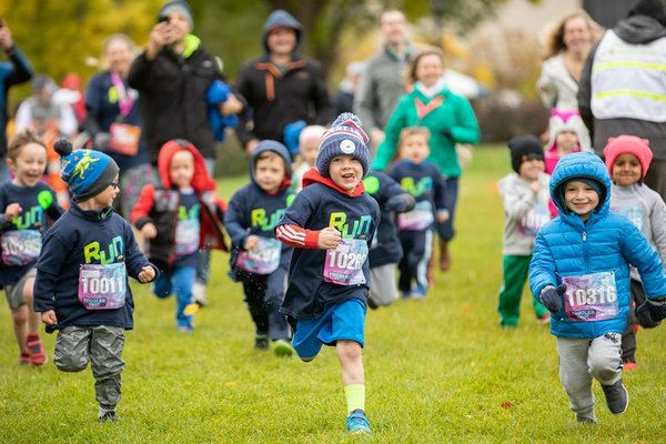 Toddler Trot at Twin Cities Marathon