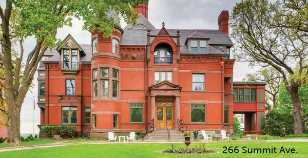 large brick mansion on 2nd and summit ave.