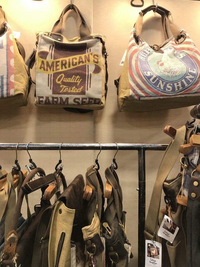 seed bag purses