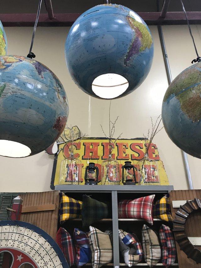 globe lanterns