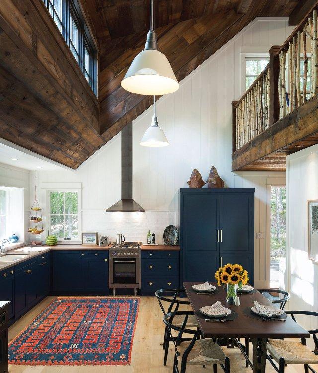 Northwoods kitchen