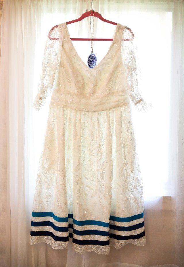 peggy's wedding dress