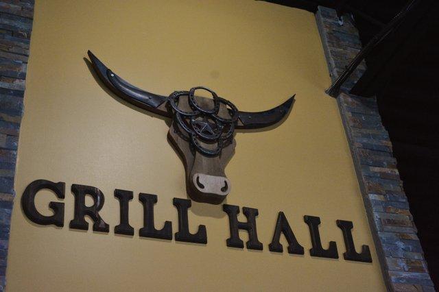 Grill Hall restaurant logo