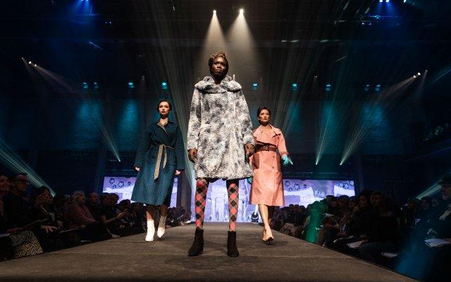 Fashionopolis 2019: group of runway models