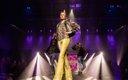 woman on runway at Fashionopolis