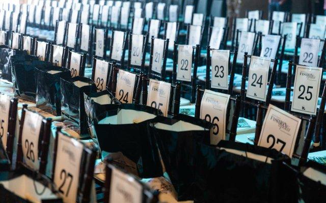 seating area at Fashionopolis 2019