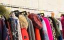 Clothing rack at Fashionpolis