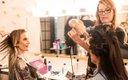 women getting hair done at Fashionopolis
