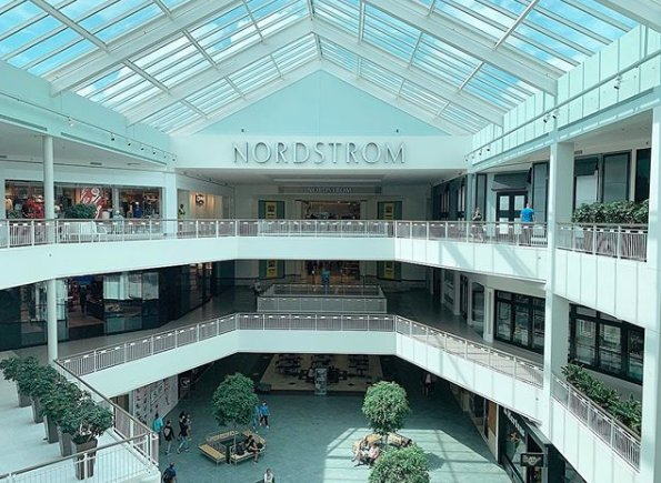 Nordstrom in the mall of america