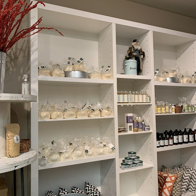 products on the shelf