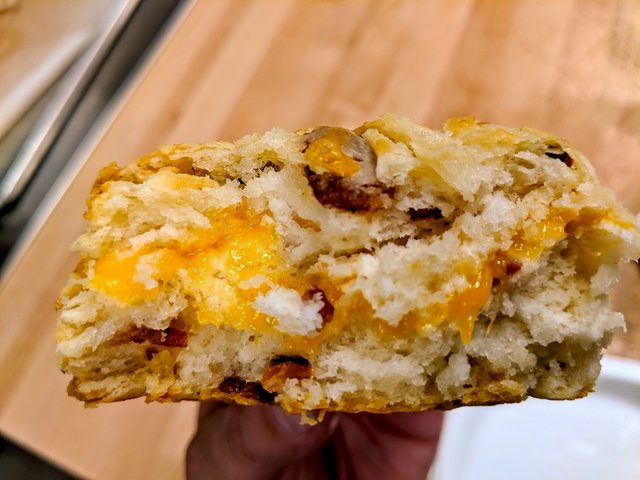 a breakfast biscuit