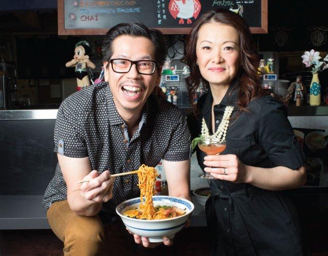 Lina Goh and John Ng