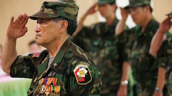 Hmong general Vang Pao