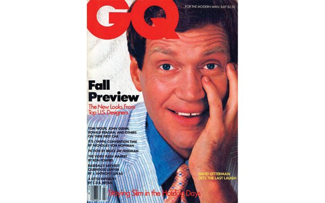 David Letterman GQ