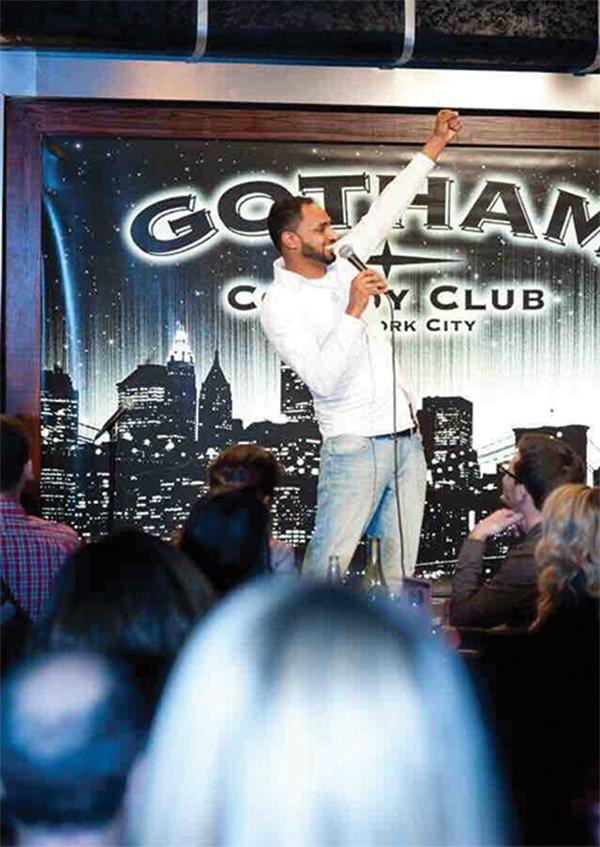 Ali Sultan at New York Arab-American Comedy Festival
