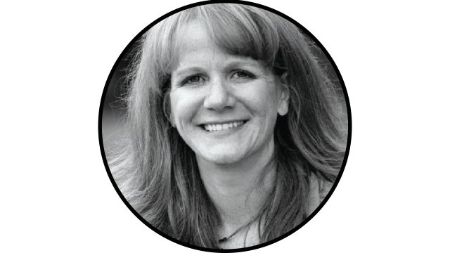 black and white picture of Kelly Ryan Kegans