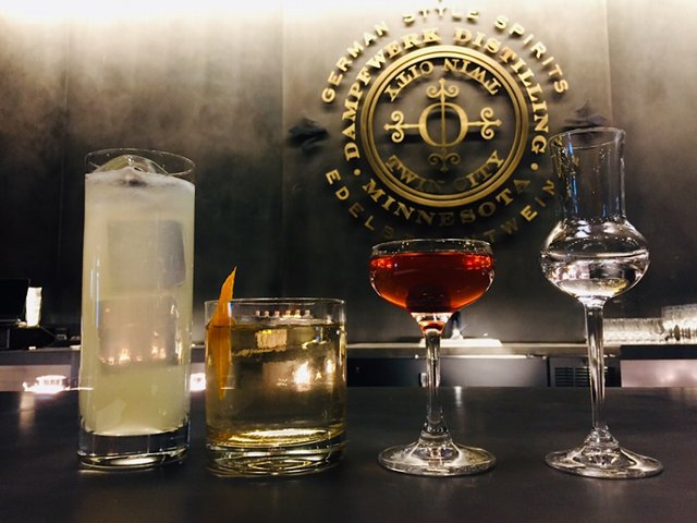 Dampfwerk Distillery Cocktail Room Cocktails
