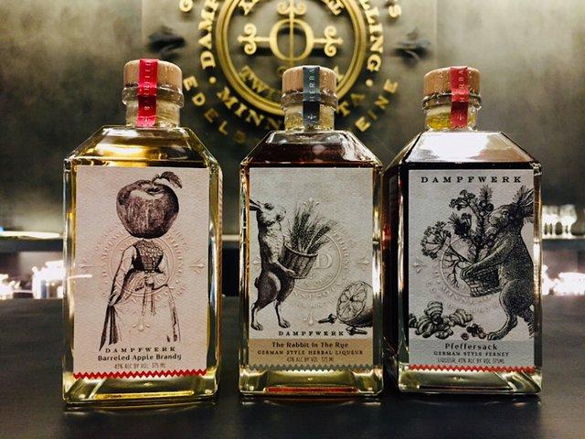 Dampfwerk Distillery Cocktail Room-only 375 ml bottles