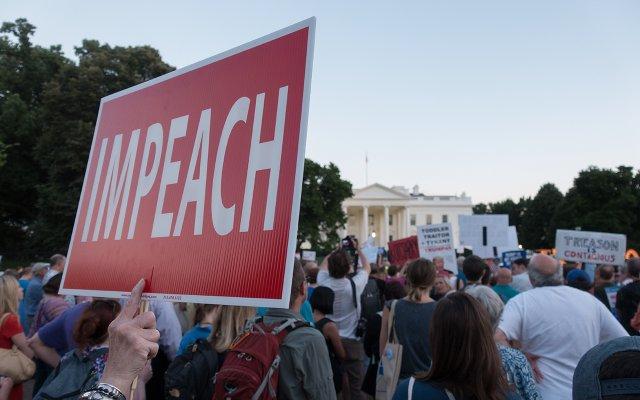Impeach sign