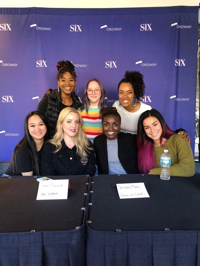 Andrea Macasaet, Abby Mueller, Brittney Mack, Samantha Pauly, Adrianna Hicks, Elinor Olson, Anna Uzele