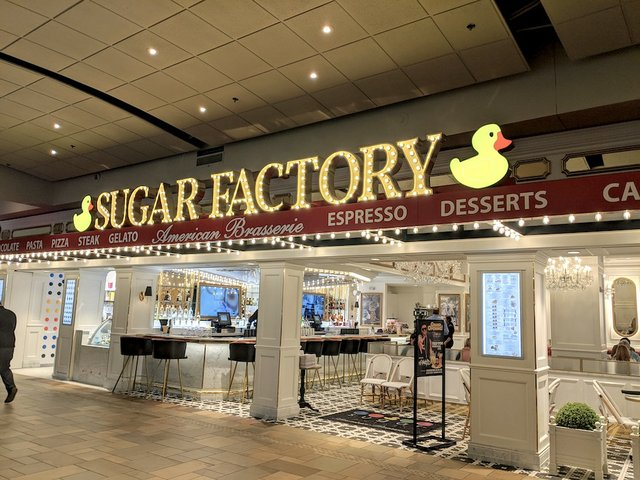 the store front of sugar factory