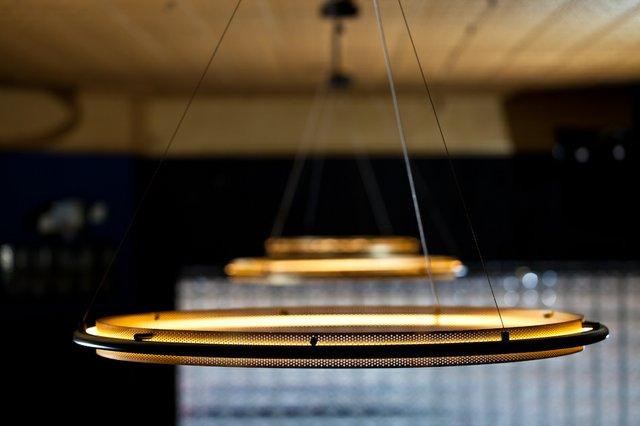 sleek looking ceiling light