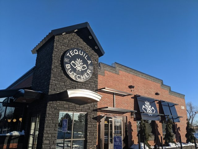 exterior of the front of tequila butcher