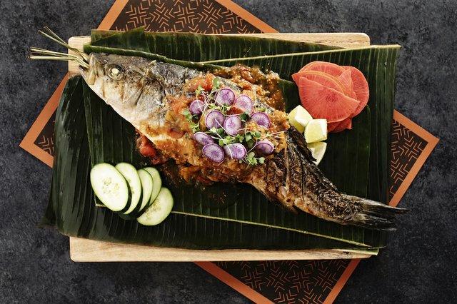 fish dish at vinai restaurant