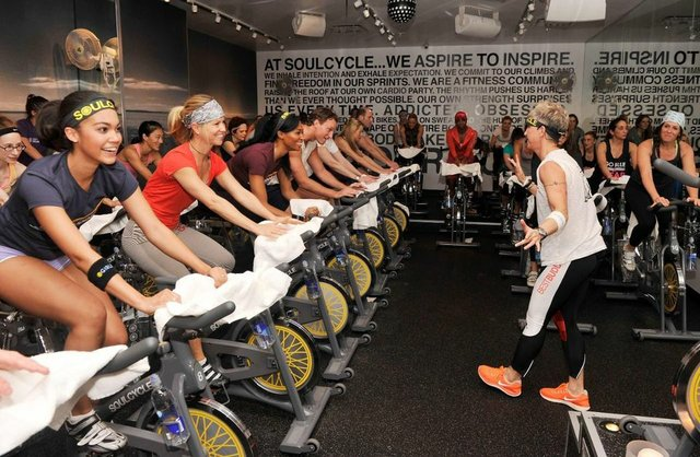 Soul cycle spin class