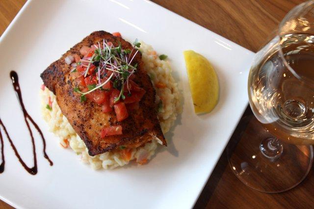 salmon dish