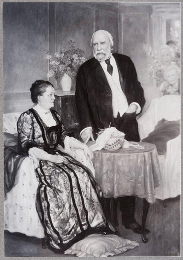 James J. Hill and Mary Theresa Mehegan